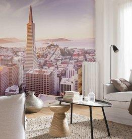 National Geographic Fotobehang Komar - Steden behang San Francisco Morning