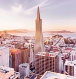 National Geographic Edition 1 Fotobehang Komar - Steden behang San Francisco Morning