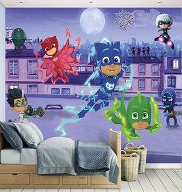 Clasic Kinderbehang Walltastic XXL - PJ Masks