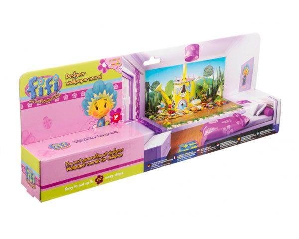 Walltastic Kinderbehang Walltastic XXL - Fifi en haar Bloemenvriendjes