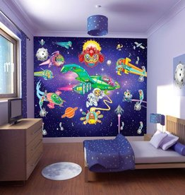Clasic Kinderbehang Walltastic XXL - Alien Adventure