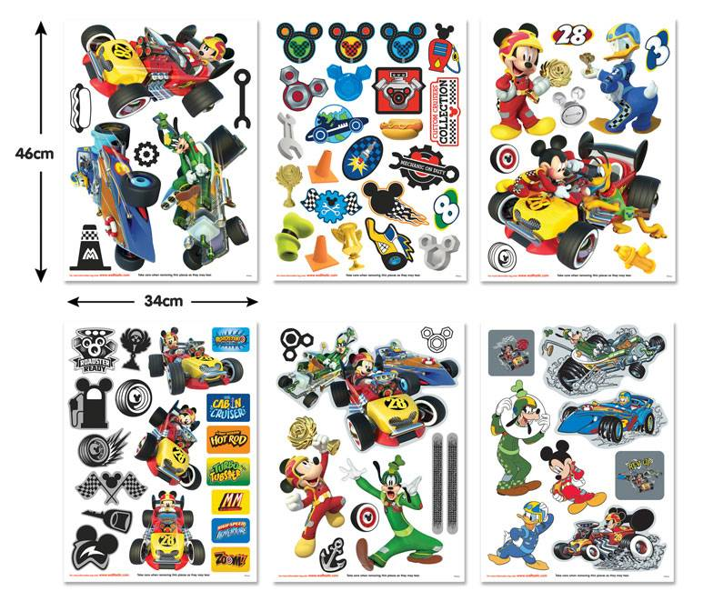 Disney Edition 1 Muursticker Walltastic S - Disney Mickey Mouse