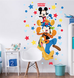 Disney Edition 1 Muursticker Kinderkamer Walltastic XXL Disney Mickey Mouse