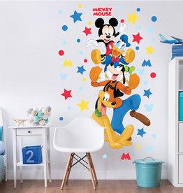 Disney Muursticker Kinderkamer Walltastic XXL Disney Mickey Mouse