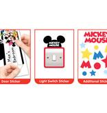 Disney Edition 1 Muursticker Kinderkamer Walltastic XXL Disney Mickey Mouse