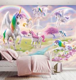 RAP Kinderbehang Walltastic XXL - Magical Unicorn XXL