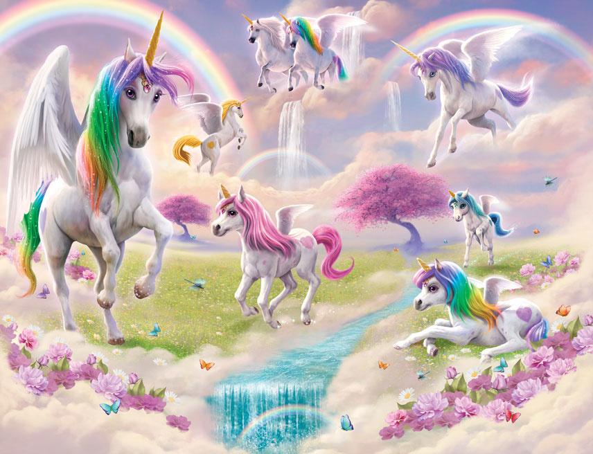 Walltastic Kinderbehang Walltastic XXL - Magical Unicorn XXL