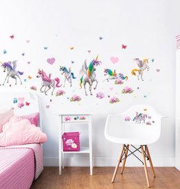 RAP Muursticker Kinderkamer Walltastic M - Magical Unicorn