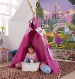 Disney Edition 4 Kinderbehang Komar - Kinderkamer behang PRINCESS SUNSET