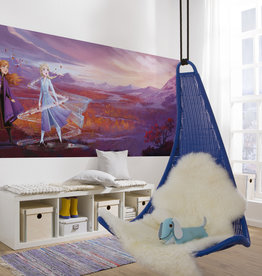 Disney Edition 4 Kinderbehang Komar - Kinderkamer behang FROZEN PANAROMA