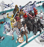 Disney Edition 4 Kinderbehang Komar - Kinderkamer behang Star Wars Cartoon Collage Wide