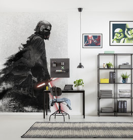 Disney Edition 4 Kinderbehang Komar - Kinderkamer behang Star Wars Kylo Vader Shadow