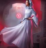 Disney Edition 4 Kinderbehang Komar - Kinderkamer behang Star Wars Classic Leia