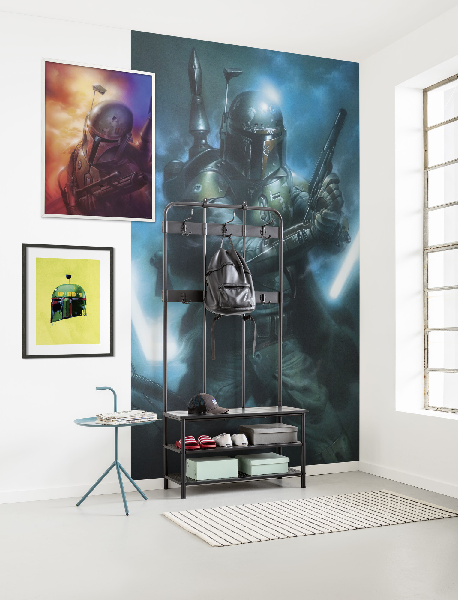Disney Edition 4 Kinderbehang Komar - Kinderkamer behang Star Wars Classic Bounty Hunter