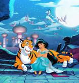 Disney Edition 4 Kinderbehang Komar - Kinderkamer behang WAITING FO ALADDIN