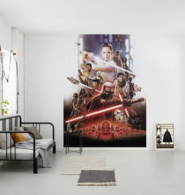 Disney Edition 4 Kinderbehang Komar - Kinderkamer behang STAR WARS MOVIE POSTER REY