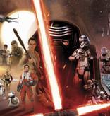 Disney Edition 4 Kinderbehang Komar - Kinderkamer behang  STAR WARS EP7 COLLAGE