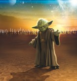 Disney Edition 4 Kinderbehang Komar - Kinderkamer behang STAR WARS MASTER YODA