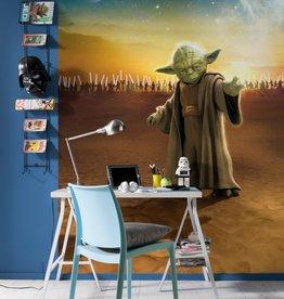 Disney Edition 4 Kinderbehang Komar - Kinderkamer behang STAR WARS MASTER YODA