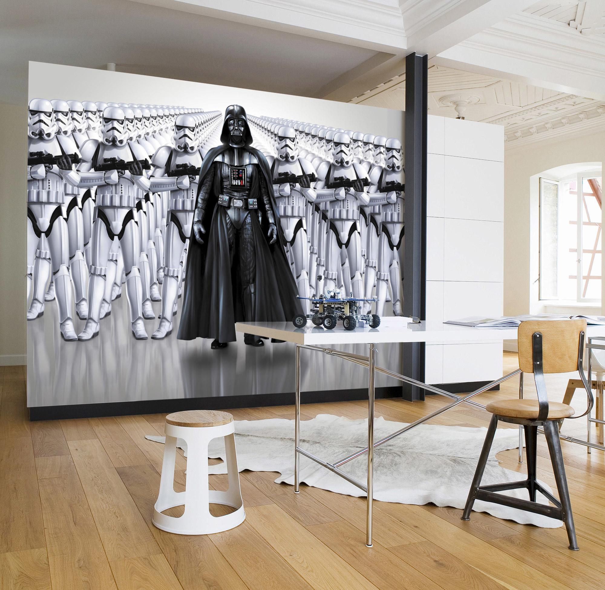 Disney Edition 4 Kinderbehang Komar - Kinderkamer behang  STAR WARS IMPERIAL FORCE