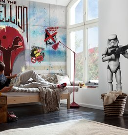 Disney Edition 4 Kinderbehang Komar - Kinderkamer behang  STAR WARS REBELS WALL