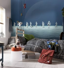 Disney Edition 4 Kinderbehang Komar - Kinderkamer behang STAR WARS SCARIF BEACH