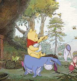 Disney Edition 4 Kinderbehang Komar - Kinderkamer behang DISNEY    POOHS HOUSE