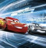 Disney Edition 4 Kinderbehang Komar - Kinderkamer behang CARS 3 SIMULATION
