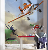 Disney Edition 4 Kinderbehang Komar - Kinderkamer behang DISNEY DUSTY AND FRIENDS