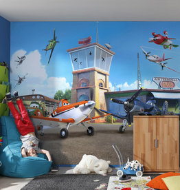 Disney Edition 4 Kinderbehang Komar - Kinderkamer behang DISNEY PLANES TERMINAL