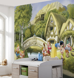 Disney Edition 4 Kinderbehang Komar - Kinderkamer behang SNOW WHITE