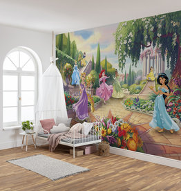 Disney Edition 4 Kinderbehang Komar - Kinderkamer behang PRINCESS PARK