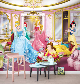 Disney Edition 4 Kinderbehang Komar - Kinderkamer behang PRINCESS MIRROR