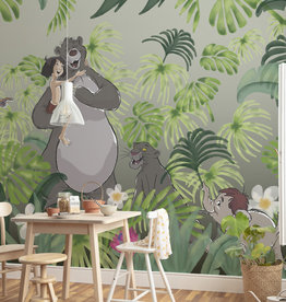 Disney Edition 4 Kinderbehang Komar - Kinderkamer behang Welcome To the Jungle