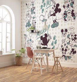 Disney Edition 4 Kinderbehang Komar - Kinderkamer behang Mickey and Friends