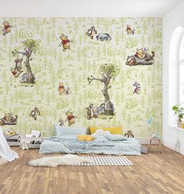 Disney Edition 4 Kinderbehang Komar - Kinderkamer behang Winnie Pooh Friends