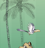 Disney Edition 4 Kinderbehang Komar - Kinderkamer behang Jungle Simba