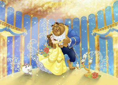 Beauty & the Beast Kinderbehang