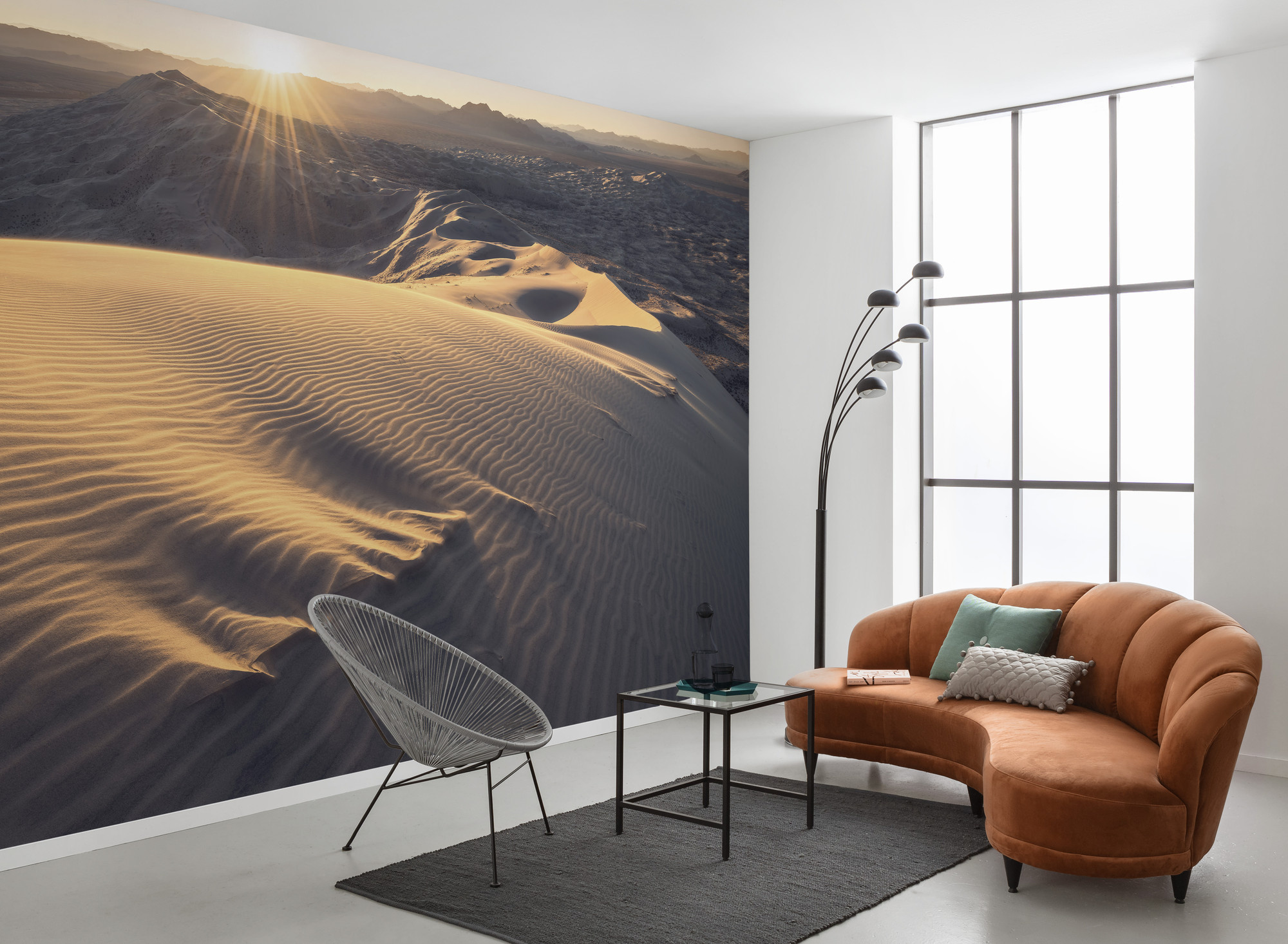Stefan Hefele Edition 2 Fotobehang Komar - Natuur behang MOJAVE HEIGHTS