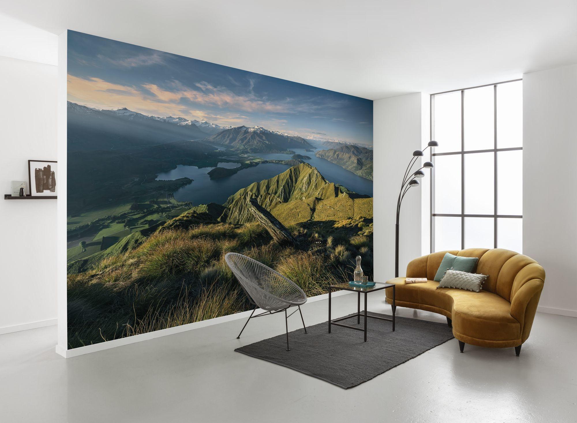 Stefan Hefele Edition 2 Fotobehang Komar - Natuur behang GREEN RIDGES