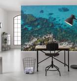 Stefan Hefele Edition 2 Fotobehang Komar - Natuur behang BRIGHT BLUE