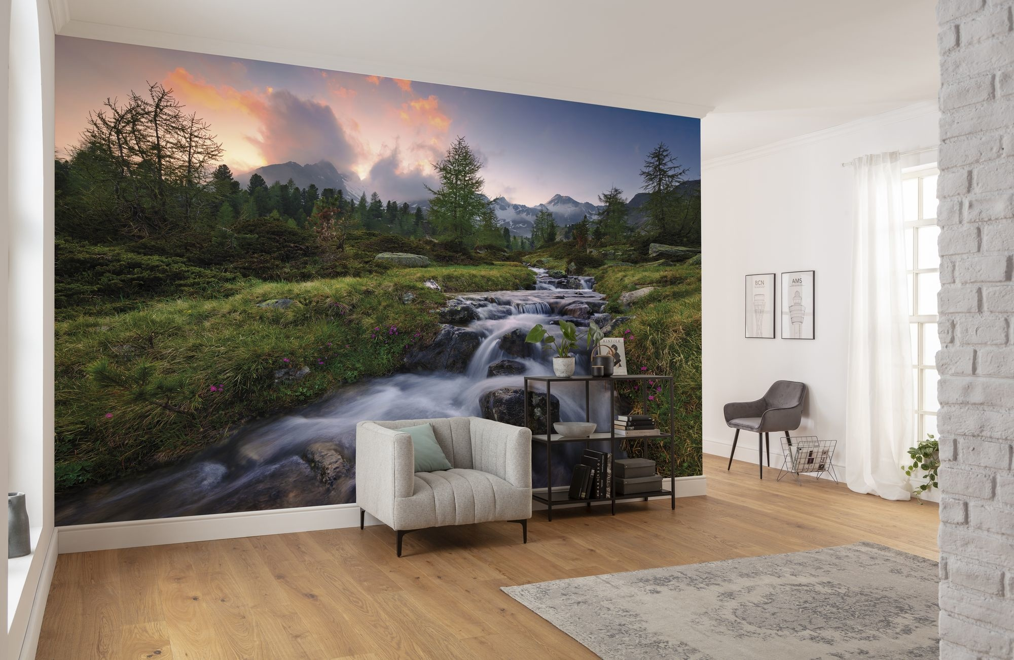 Stefan Hefele Edition 2 Fotobehang Komar - Natuur behang WILD CANADA