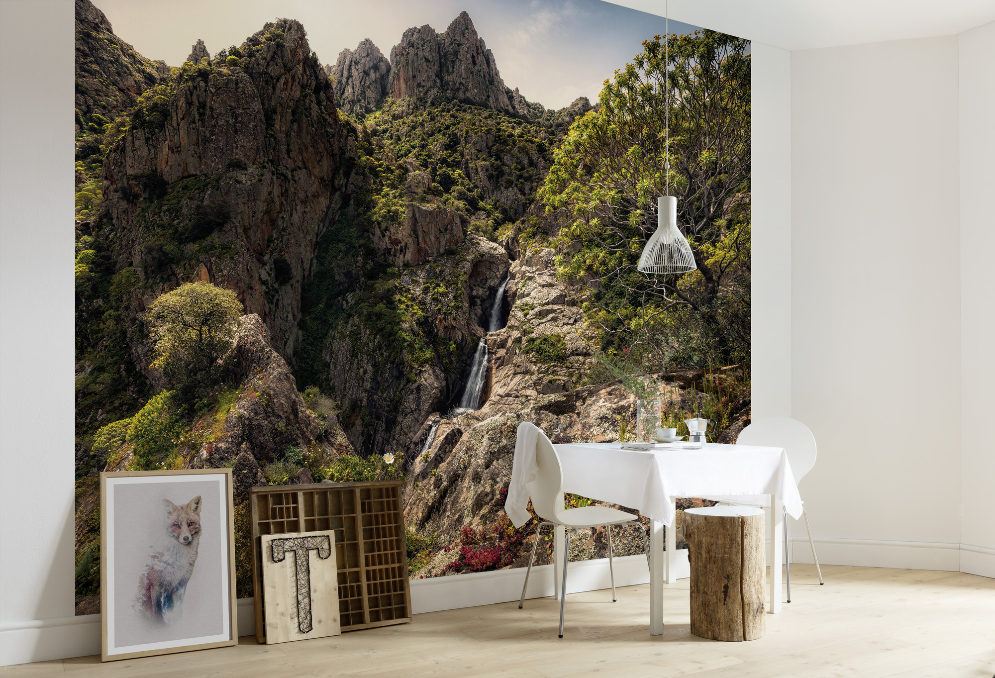 Stefan Hefele Edition 2 Fotobehang Komar - Natuur behang RAINBOW LANDS