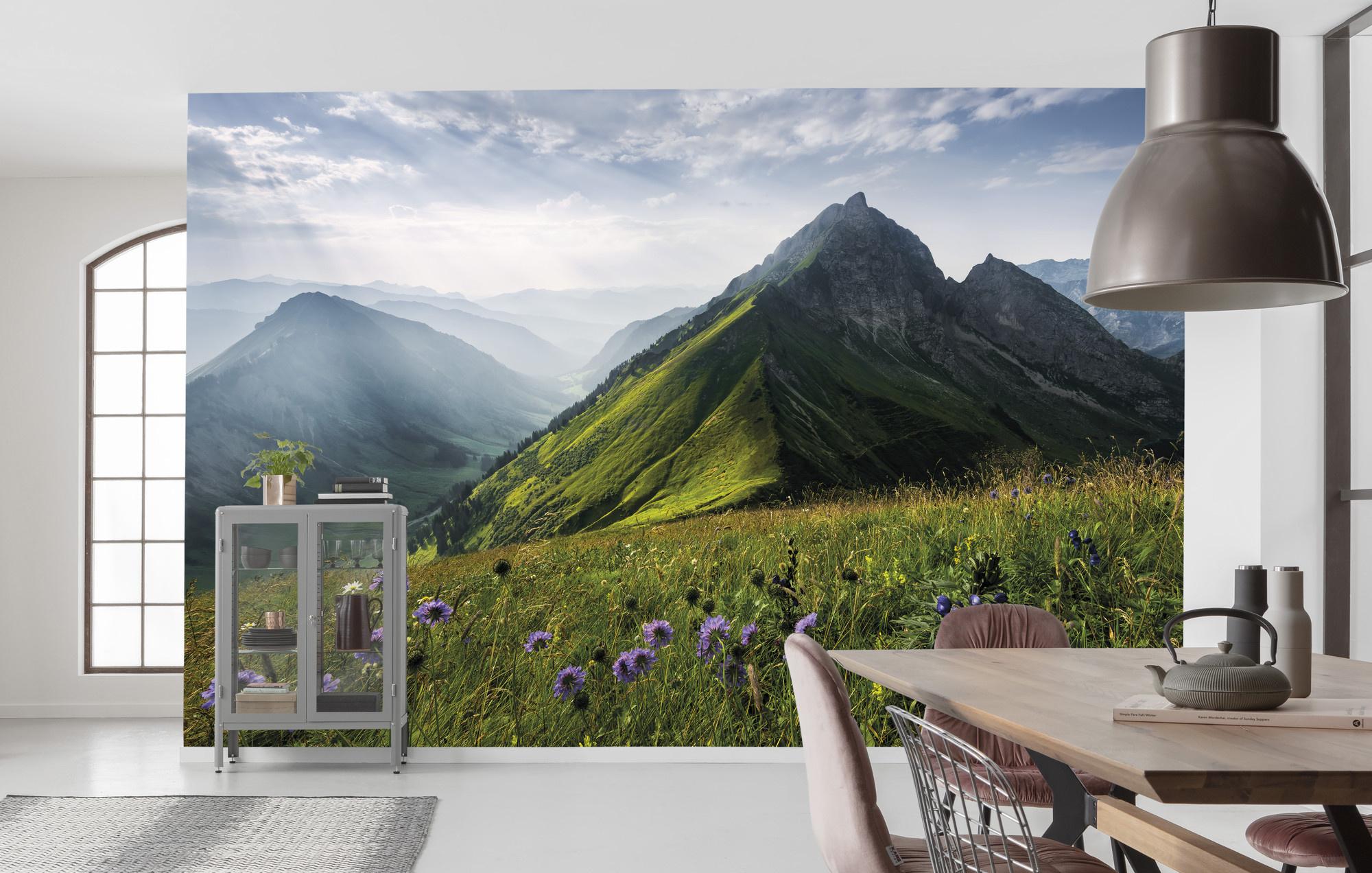 Stefan Hefele Edition 2 Fotobehang Komar - Natuur behang THE GREEN QUEEN