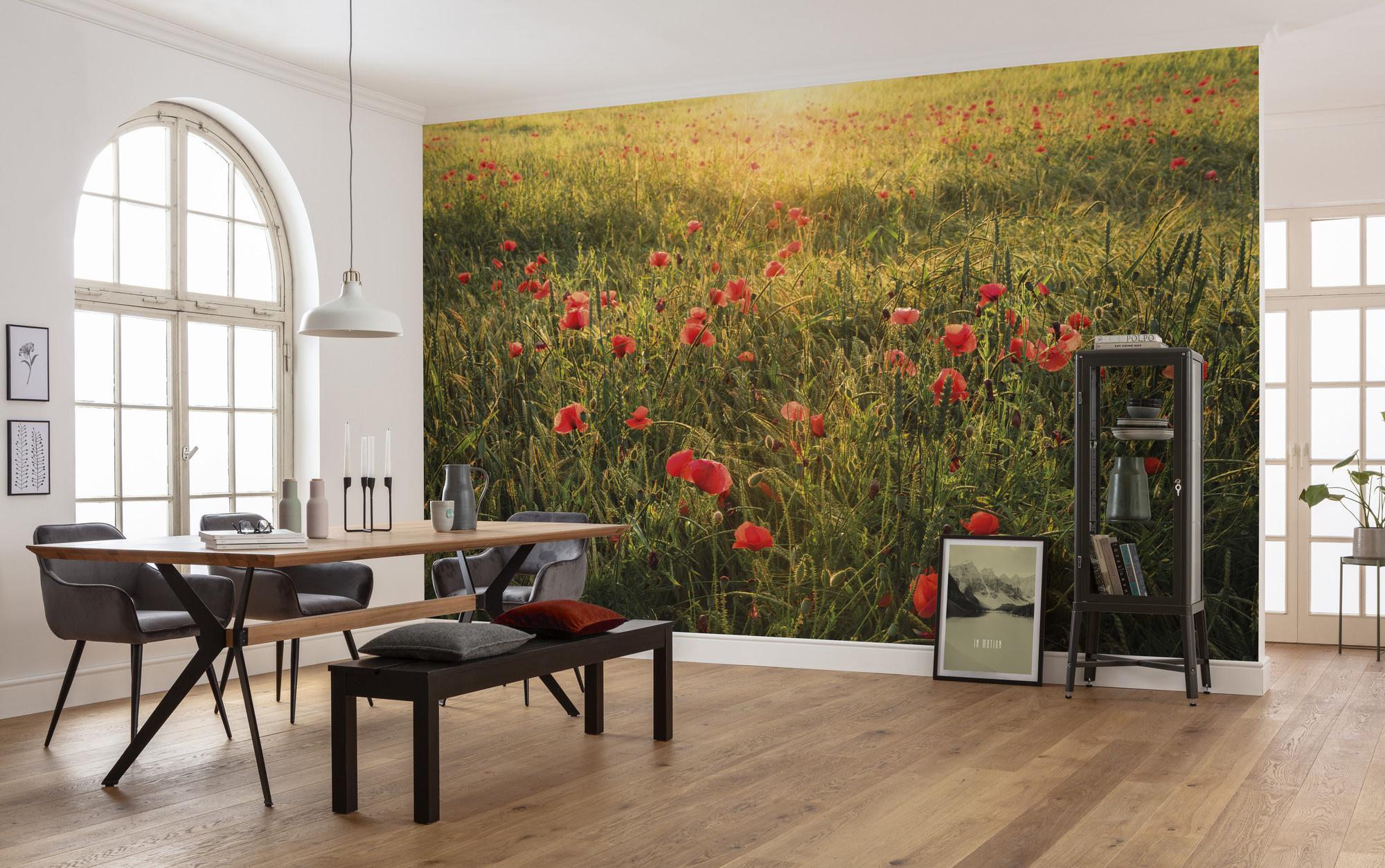 Stefan Hefele Edition 2 Fotobehang Komar - Natuur behang POPPY WORLD I