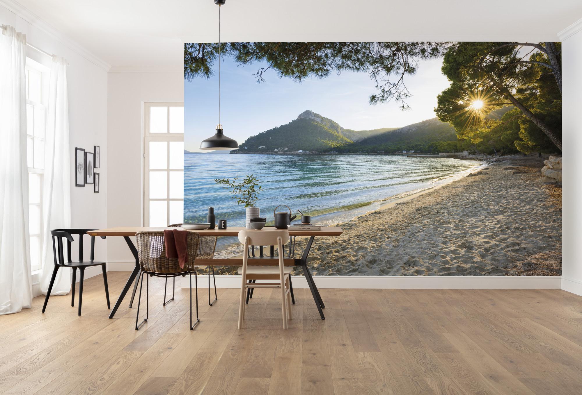Stefan Hefele Edition 2 Fotobehang Komar - Natuur behang LONELY PARADISE