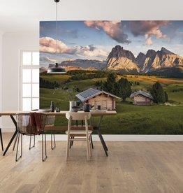 Stefan Hefele Edition 2 Fotobehang Komar - Natuur behang DOLOMITENTRAUM