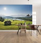 Stefan Hefele Edition 2 Fotobehang Komar - Natuur behang BERGWIESE VOR KARWENDEL