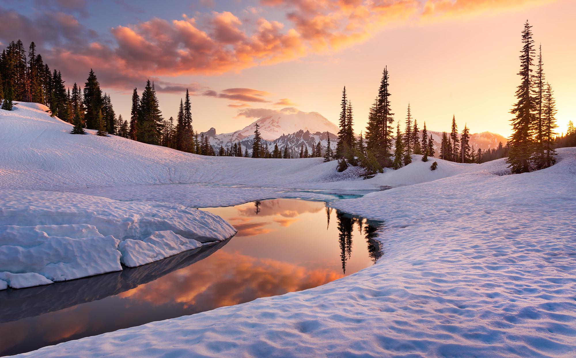 Stefan Hefele Edition 2 Fotobehang Komar - Natuur behang AMERICA THE BEAUTIFUL