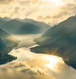 Stefan Hefele Edition 2 Fotobehang Komar - Natuur behang GOLD MOUNTAINS